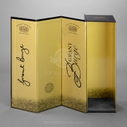 Reversable lid Champagne Gift box