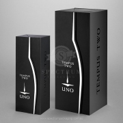 750ml and 3.0 Litre Bottle Premium Gift Boxes - Profile cut door