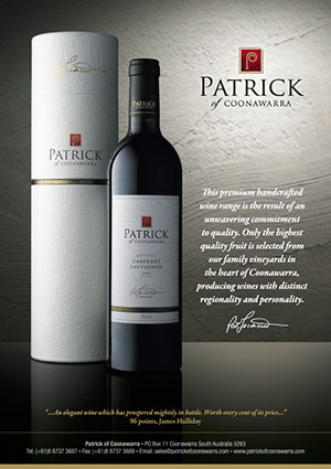 Patrick Winestate Press Advert