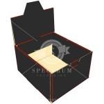 Cardboard wine Box-Counter Display