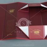 Grant Burge single bottle folded gift box