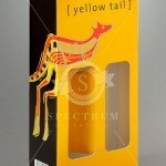 Yellowtail Wine bottle carry packs-Cardboard Wine Boxes