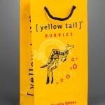 Retail Shopping Bags- Yellowtail 2 bottle wine bag
